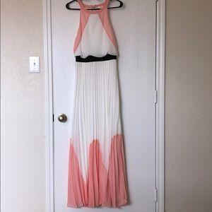Buckle Soiéblue Pleated Maxi Dress